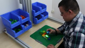 Using In-Situ Projection to Support Cognitively Impaired Workers at the Workplace