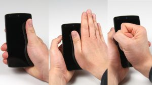 PalmTouch: Using the Palm as an Additional Input Modality on Commodity Smartphones
