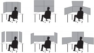 Screen Arrangements and Interaction Areas for Large Display Work Places