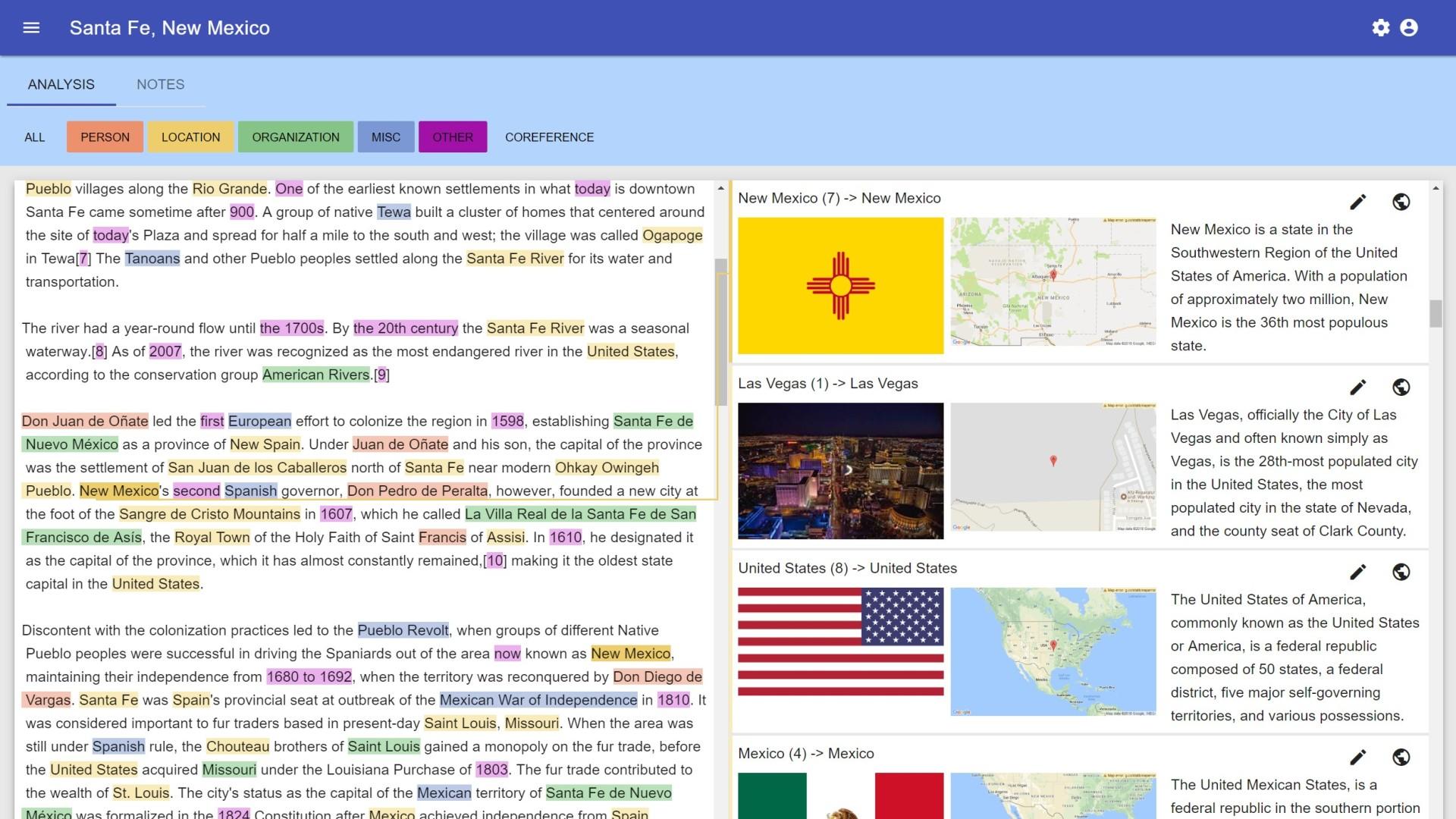 NLATool: An Application for Enhanced Deep Text Understanding